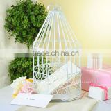 Bird cage card holder,Wedding card holder,Metal card holder,Table top wedding card holder