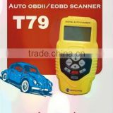 Car Diagnostic Tools - Newest Auto Scanner Car Scanner Highend Auto Diagnostic Scan T79(Yellow, Original Factory price)