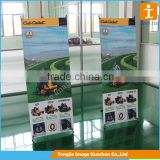 Retractable aluminum X Banner Stand for Exhibition