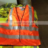 Solid Customised safety vest 3M