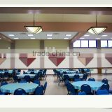 Fiberglass Wall Panels - Fabric Facing, Triangle Figure