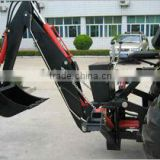 3 point hitch backhoe for PTO or hydraulic driven