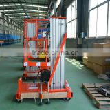 5m hydraulic cylinder single mast aluminum lift repair table