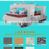 Artificial Quartz slab vacuum vibrating pressing machine Quartz slab vacuum vibrating pressing making machine