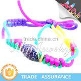 Colorful Paracord Mystical Mood Bead Bracelet