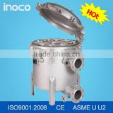 INOCO bag filter stainless steel water filter bag filter housing                                                                                                         Supplier's Choice