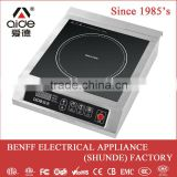 good quality high efficiency 2800W commercial induction hob