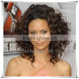 wholesale new fashion style and short afro curly human hair kosher wigs