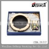 European-style luxury restoring ancient ways of creative personality ashtray and lighter gift sets, fasfhionable ashtray
