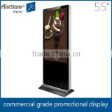 FlintStone 55 Inch Petrol Station Lcd Advertising Display Point Of Sale Lcd Video Monitor wifi proximity marketing ad device