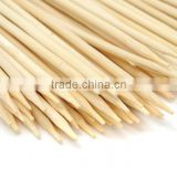 Wholesales 200mm bamboo kebab skewer with custom logo                                                                         Quality Choice