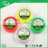 EPA,GS certifacate grass cutter nylon line wires for grass cutting brush cutter parts SR-BC trimmer