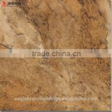 full polished glazed brown tile, marble ceramic bathroom floor tile cheap with accessories