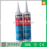 Heat resistant liquid acetic cure silicone sealant for construction glass