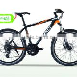 26 inch front suspension mountain bike QD-F-603
