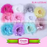 Soft Chiffon Wholesale Baby Ruffle Bloomers lovely solid color Baby Bloomers