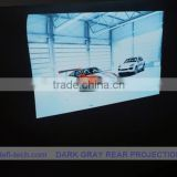 film optical projection screen,transparent rear projection film,Clear and bright image quality, ultra-light weight