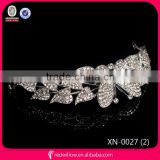 New 2015 hot selling butterfly beauty girl crowns and tiaras,crowns and tiaras,tiara wedding
