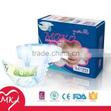 Super soft cotton disposable moony rubber diapers quality baby diaper manufacturer in China