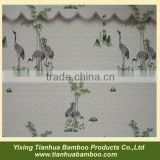 Outdoor curtains in bamboo material