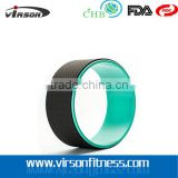 VYW601 Ningbo virson wholesales RVC yoga wheel yoga sports accesspries wheel fitnees yoga wheel