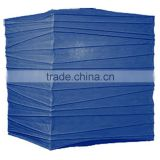 Navy Blue 12 Inch Square Premium Chinese Paper Lantern for holiday party decor