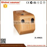 Far infrared half body sauna and steam combined room,sauna room                                                                         Quality Choice