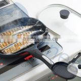 Arnest cookware cooking tools utenils pans fish aluminum silver marble coating grilled frying equipment lid pan set 76159