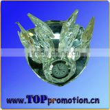 decoration crystal glass clock craft 16111497