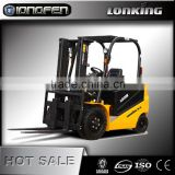 LG35B(ac) Lonking 3.5 m forklift with 3 m mast for sale with low price