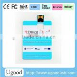 Alibaba hot universal credit card pendrive,with customized logo USB flash drive, wholesale promotion gift flash storage
