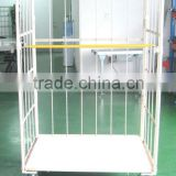 roller container,wire mesh cage trolley,postal cart,roll cart,foldable cart,folding cart,logistics cart