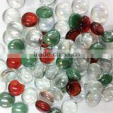 fashion style mix colored decorative glass gems