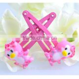 penguin style clay hair band hair clips sets for kids baby hair clips
