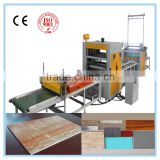 Hot-melt glue laminating machine line for pvc polypropylene/ PUR/ sheet roller glue machine
