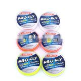 New arrival durable fly backing polyester braided wire tuna fishing line