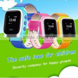 2016 New Smart baby watch 0.66 inch Q60 wrist watch gps tracking device for kids