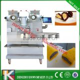 KN-E36 Automatic double filling cookies making machine / biscuit encrusting machine(CE certificate )