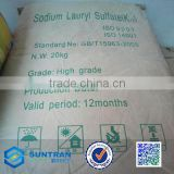High quality Sodium Lauryl Sulfate Powder /sodium lauryl ether sulfate/ Sodium Dodecyl Sulfate(K12)