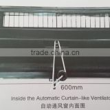 Huabang sale sidewall plastic poultry ventilation air inlet for chicken farm green house