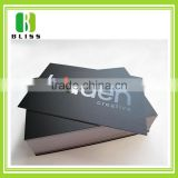 Custom Printing paper good quality black business card