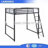 Kids Bed Bunk Bed With Slide Steel Furniture School Dormitory For Student
