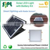 300x300mm round led panel 30 watt solar powered battery backup rechargeable led home emergency light stair light