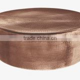 copper plated rounded large tables for sale