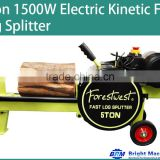 5T Electric Fast Kinetic Kinetic Log Splitter-3s Cycle Time BM11040