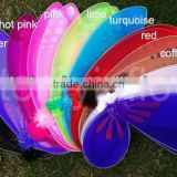 Fashion girls color angel butterfly wings
