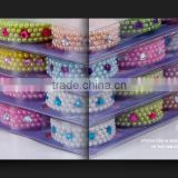 Factory sale beautiful cyrstal gem sticker sheets