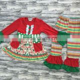 Wholesale New Clothing Sets For Kids Girl boutique Clothing Sets cute baby Christmas outfits