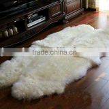 Mongolia Lamb Fur Cushion(violet)