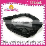 high quality flower design rhinestone head band fashion head band